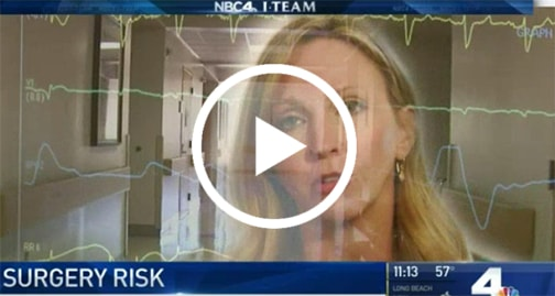 surgery risk screen shot